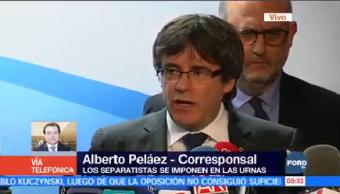 Separatistas Logran Victoria Elecciones Cataluña
