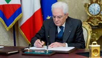 Elecciones parlamentarias Italia serán 4 marzo 2018