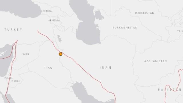 Sismo de magnitud 5.4 sacude Irán