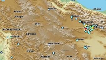Sismo magnitud 5 2 sacude ciudad iraní Teherán