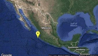 Se registra un sismo de magnitud 4.9 en Puerto Vallarta, Jalisco