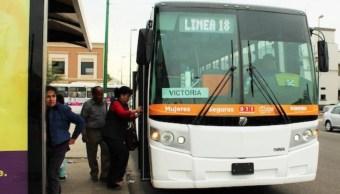 refuerzan seguridad transporte publico mujeres sonora