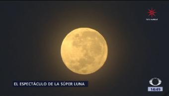 Súper Luna Atraviesa República Mexicana Anoche