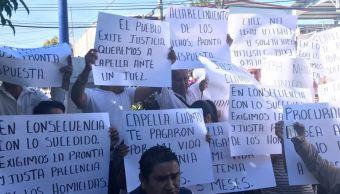 Exigen salida de comisionado estatal de Seguridad Pública en Morelos
