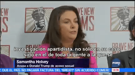 Tres Mujeres Denuncian Acoso Sexual Trump Presidente Donald Trump