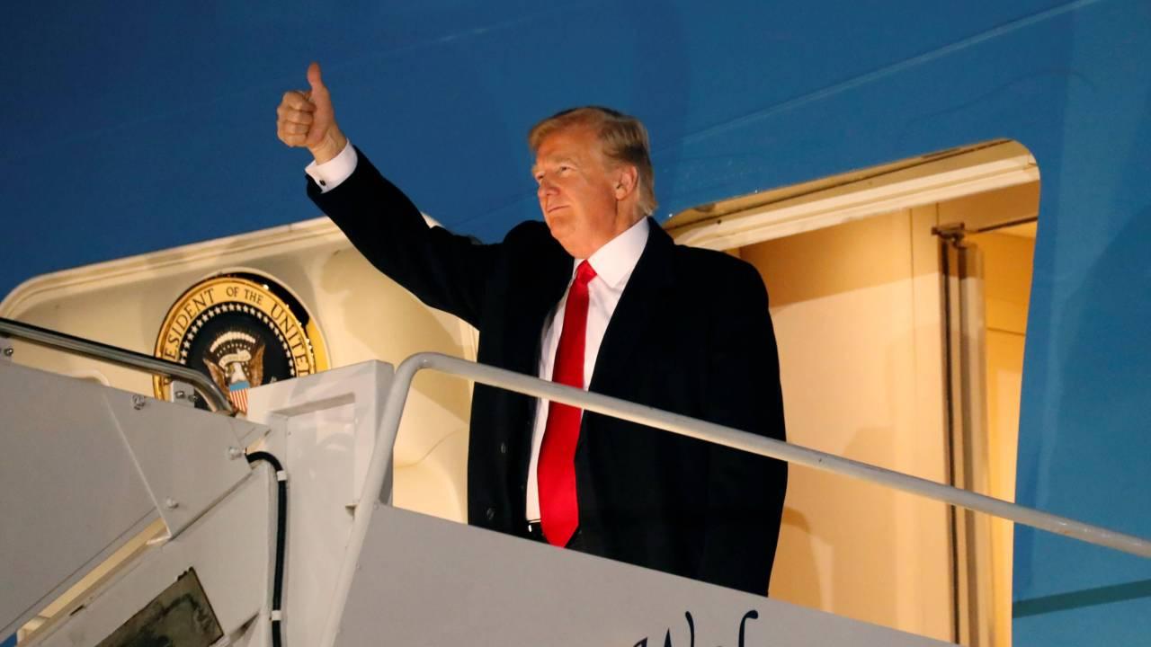 Trump llama calma y moderación decisión Jerusalén