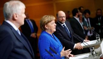 merkel y schulz confirman preacuerdo gran coalicion