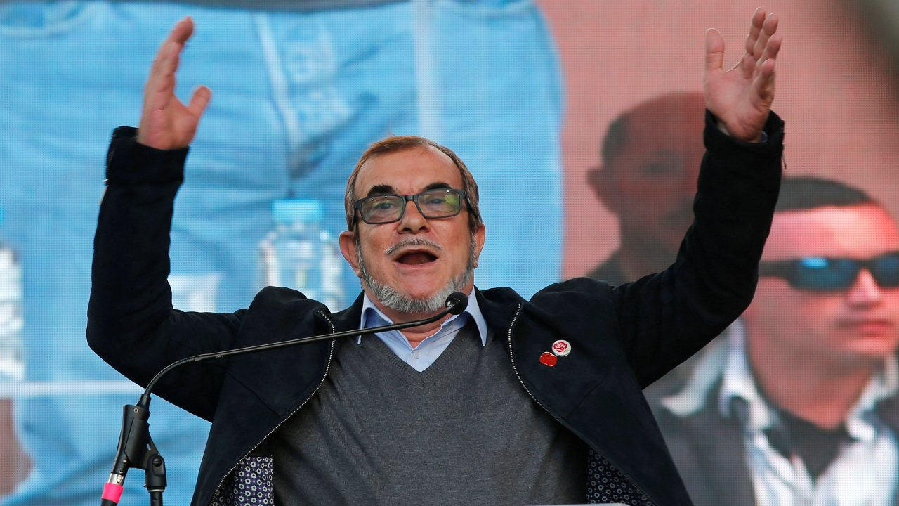 'Timochenko' de las FARC lanza candidatura a la Presidencia de Colombia
