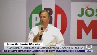 José Antonio Meade habla de seguridad en Tlaxcala