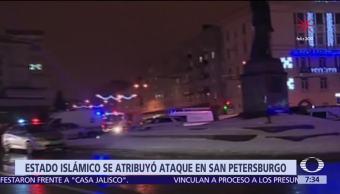Estado Islámico se atribuye atentado en San Petersburgo