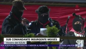 Zapatistas conmemoran 24 años del inicio de su movimiento