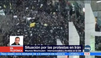 Iraníes protestan por economía y política