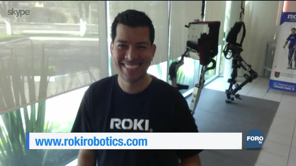 Roki Robotics desarrollaron un exoesqueleto que ayuda a las personas con paraplejia