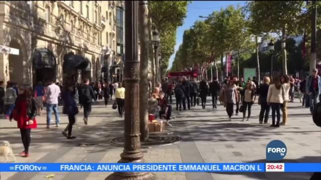 Alistan la modernización de Campos Elíseos en París