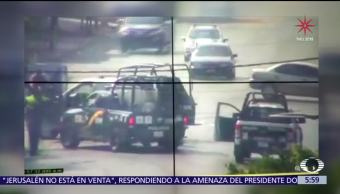 Policías de Chalco persiguen a oficiales capitalinos