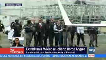 Exgobernador Roberto Borge aborda avión rumbo a México