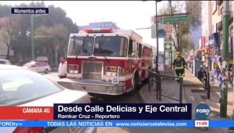 Se inunda de aguas negras registro eléctrico en el Centro histórico