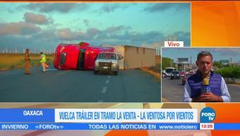 Se mantiene alerta en el Istmo de Tehuantepec, por vientos fuertes