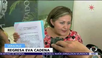 Legisladores de Morena apelarán suspensión de acción contra Eva Cadena