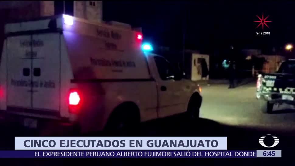 Comando asesina a cinco personas en Cortázar, Guanajuato