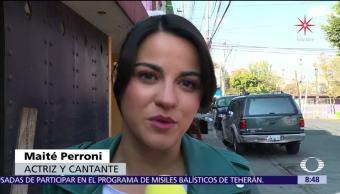 Maité Perroni empieza el año con el pie derecho