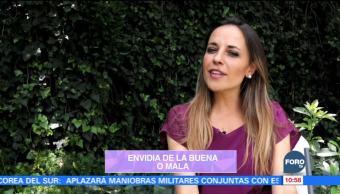 Marilú Esponda presenta información sobre las características de la envidia