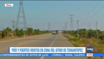 Desciende velocidad de los vientos en el Istmo de Tehuantepec, Oaxaca