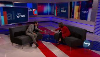 Genaro Lozano entrevista a Lourdes Aranda