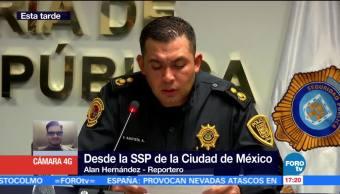 Sspcdmx Reporta Detención 4 Personas Gam Iztapalapa