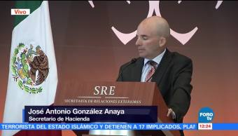 José González Anaya habla en la XXIX Reunión de Embajadores y Cónsules