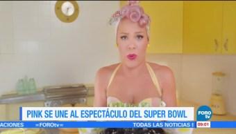 #LoEspectaculardeME: Pink interpretara himno de EU en el Super Bowl