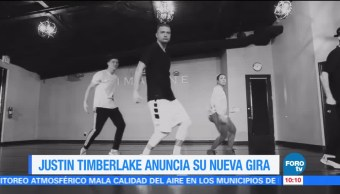 #LoEspectaculardeME: Justin Timberlake anuncia su nueva gira