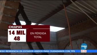 Chiapas avanza reconstrucción tras sismos de septiembre