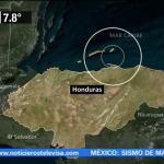 Sismo de magnitud 7.8 causa pánico en Honduras