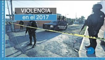 2017, el año más violento en dos décadas