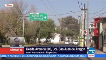 Robo de cable en San Juan de Aragón afecta tránsito del trolebús