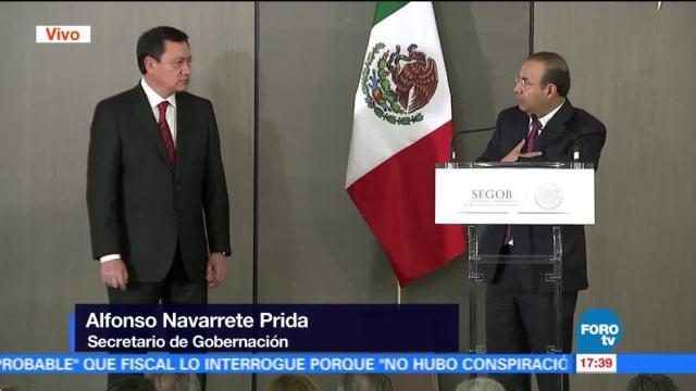 Navarrete Prida asume cargo como titular de Segob