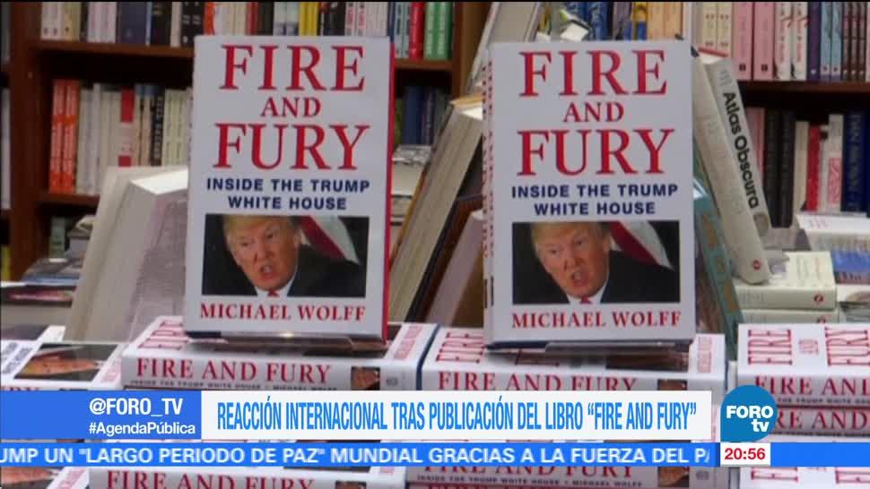 El mundo reacciona a Fire and Fury de Michael Wolff