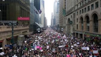 Marchas de mujeres toman fuerza en EU de cara a las elecciones