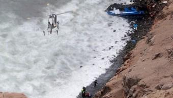 Investigación determina que tráiler provocó accidente con 53 muertos en Perú