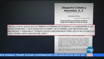 Abogado de Gutiérrez presenta queja ante CNDH por caso Chihuahua