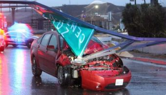 intensas lluvias provocan 110 accidentes viales en tijuana, b.c.