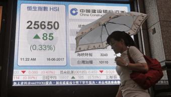 Acciones chinas alcanzan máximos de 6 semanas apoyadas por constructoras