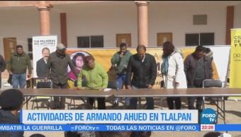 Actividades Armando Ahued Tlalpan
