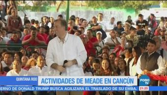 Actividades de José Antonio Meade en Cancún