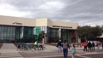 Cierran operaciones en aeropuerto de San Luis Potosí