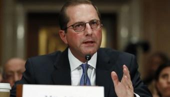Senado confirma Alex Azar como secretario Salud Estados Unidos