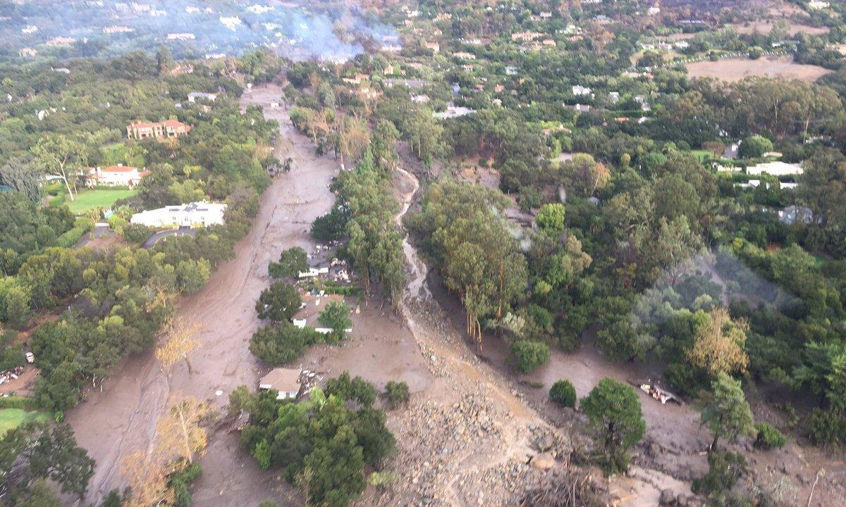 Inundaciones y deslaves dejan ocho muertos California