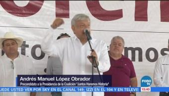 AMLO concluye gira por Veracruz