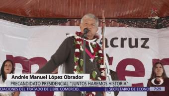 López Obrador promete nuevas universidades con educación gratuita